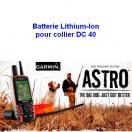 Batterie Lithium-Ion pour collier DC40 - Garmin