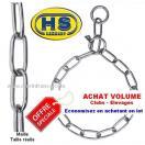 Lot de 10 colliers sanitaire, �trangleur, acier INOX - Qualit� Pro HS