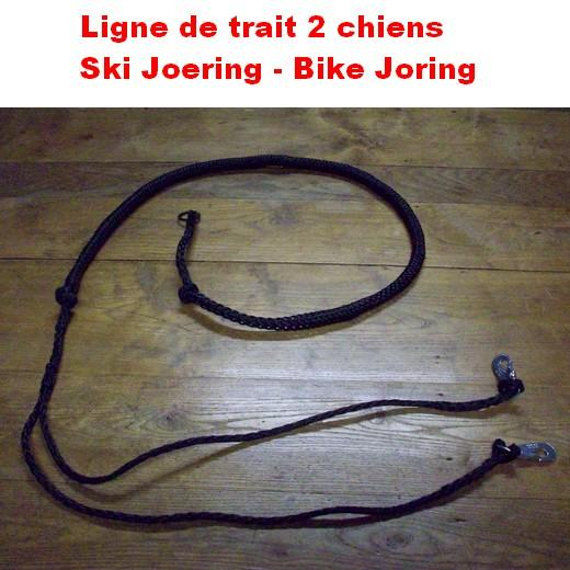 ceinture canicross 2 chiens
