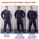 Vêtement de Travail pour Agent Capture Chien