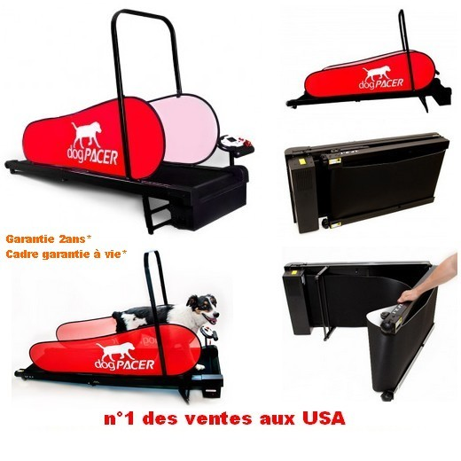 promotion Tapis roulant DOG PACER Home Trainer pour chien