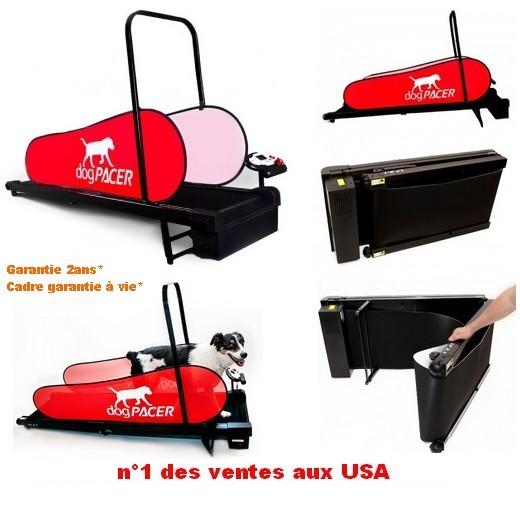 Promotion tapis roulant dog pacer home trainer pour chien chez morin - Tapis de course pour chien ...