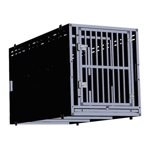 cage de transport sur mesure en alu complet pour chien et. Black Bedroom Furniture Sets. Home Design Ideas