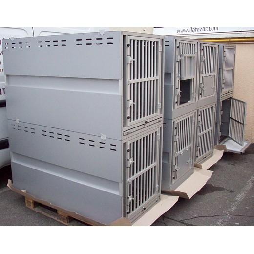 cage de transport sur mesure en alu complet pour chien et. Black Bedroom Furniture Sets. Home Design Ideas