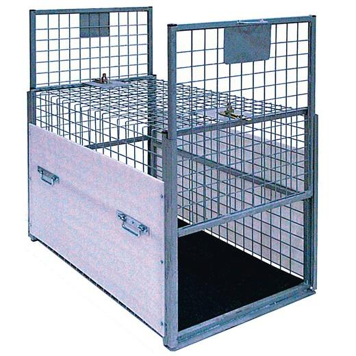 cage de transport sp ciale capture chien morin france mat riel de capture d 39 animaux tel chien. Black Bedroom Furniture Sets. Home Design Ideas