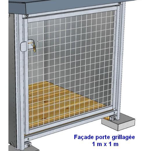 Panneau chenil grillag pro chenils en kit pour chien - Porte de jardin grillage ...