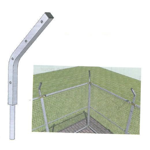 support antifugue pour chenil chenils en kit pour chien parc chien morin fabricant. Black Bedroom Furniture Sets. Home Design Ideas