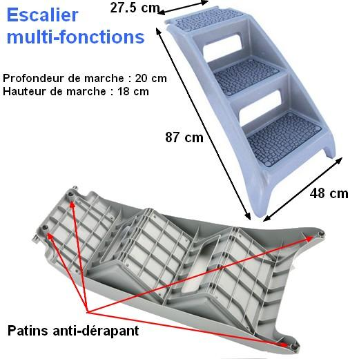 escalier pour chien ag ou bless chien bless handicap levage et bandage morin soin et. Black Bedroom Furniture Sets. Home Design Ideas