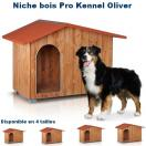 Niche bois Pro Kennel Oliver pour chien
