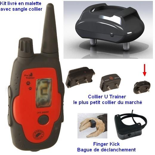 martin system pt3000 s s c avec collier micro trainer collier de rappel pour chien morin. Black Bedroom Furniture Sets. Home Design Ideas