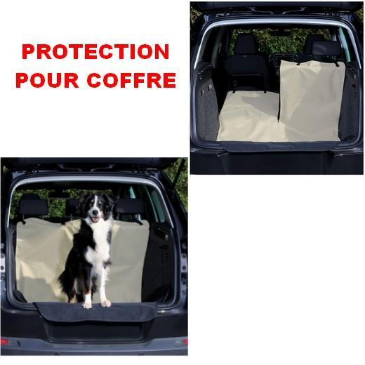 housse de protection pour coffre contre les poils de chien housses de protection pour si ges et. Black Bedroom Furniture Sets. Home Design Ideas