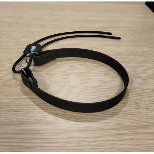sangle de collier de dressage pour chien avec lien lastique perfect fit collier de rappel. Black Bedroom Furniture Sets. Home Design Ideas