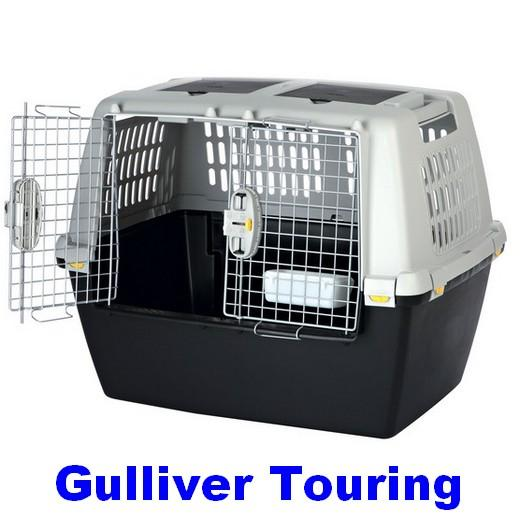cage de transport gulliver touring pour chiens et chats adapt e au voyage en avion. Black Bedroom Furniture Sets. Home Design Ideas