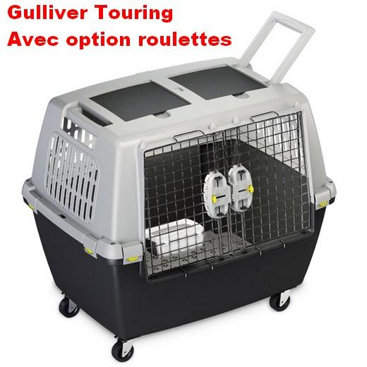 cage de transport gulliver touring pour chiens et chats. Black Bedroom Furniture Sets. Home Design Ideas
