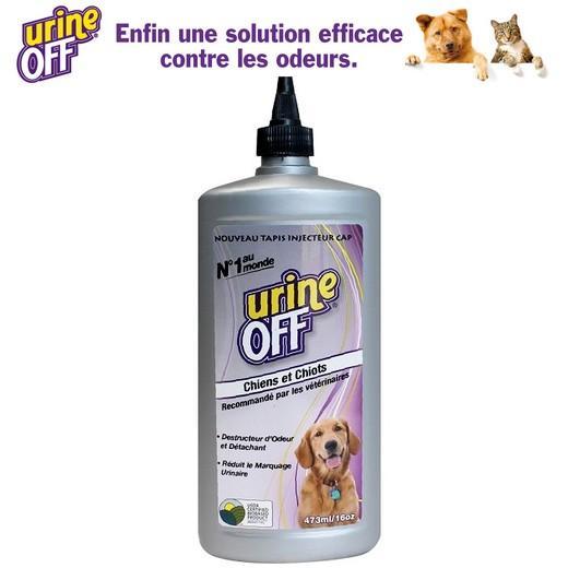 Urine off flacon pour tapis et moquette urine chien et chiot - Comment enlever odeur urine de chat sur tapis ...