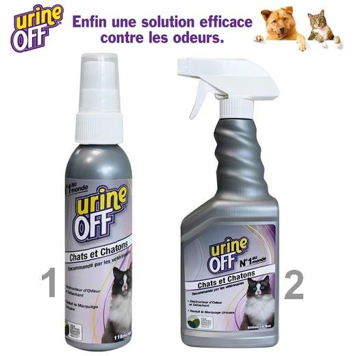 urine off spray chat limine les odeurs d urine des chats. Black Bedroom Furniture Sets. Home Design Ideas