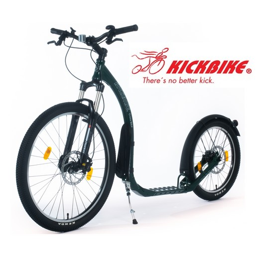 patinette kickbike cross max 20 disc freinage hydraulique verte place animalerie. Black Bedroom Furniture Sets. Home Design Ideas