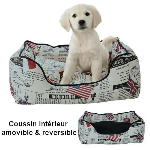 corbeille pour chien et chat morin couchage et. Black Bedroom Furniture Sets. Home Design Ideas