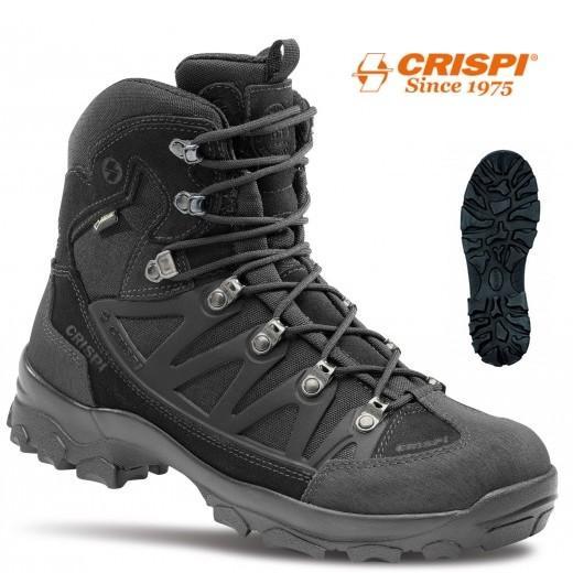 Chaussure Crispi Stealth Pus Gtx Noir Rangers De Securite Pour Intervention Police Gendarmerie Armee