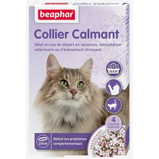 collier calmant pour chat beaphar place animalerie. Black Bedroom Furniture Sets. Home Design Ideas