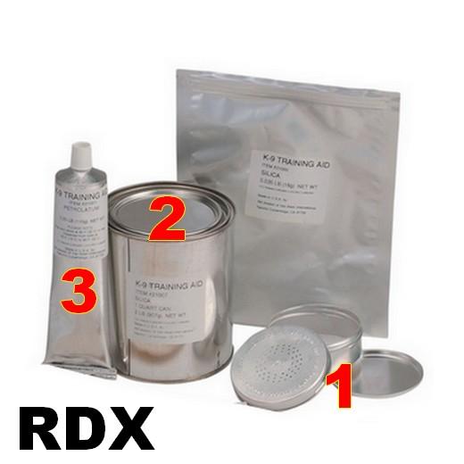 Simulants d'entrainement à la détection explosif - RDX - XM K-9