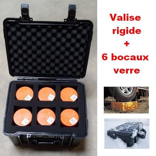 Valise rigide avec bocaux pour stup ou explo brigade for Ou trouver des bocaux en verre