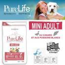 PureLife Mini Adulte - Aliment pour chien adulte de petite race