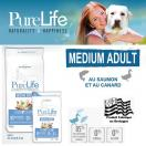 PureLife Medium Adulte - Aliment pour chien adulte de race moyenne
