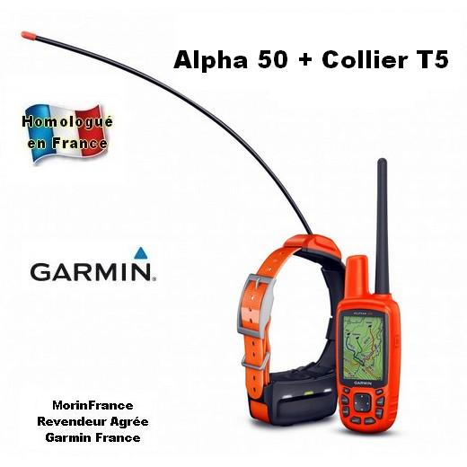 collier de r p rage gps chien de chasse garmin alpha 50 gps morin accessoires laisses. Black Bedroom Furniture Sets. Home Design Ideas