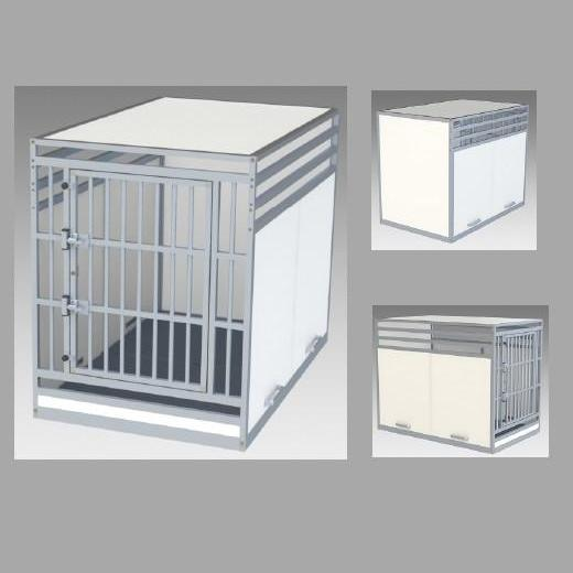 cage sur mesure iata pour le transport des grands chien en avion. Black Bedroom Furniture Sets. Home Design Ideas