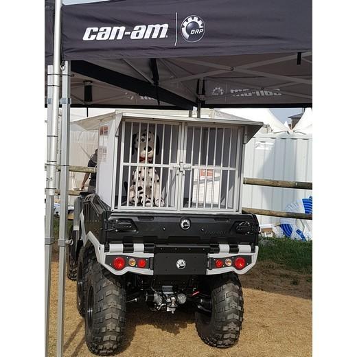 cage pour chien mod le ext rieur pour quad ou pick up benne. Black Bedroom Furniture Sets. Home Design Ideas