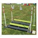 Saut en longueur PVC & Tartan - Agility K9 Sport