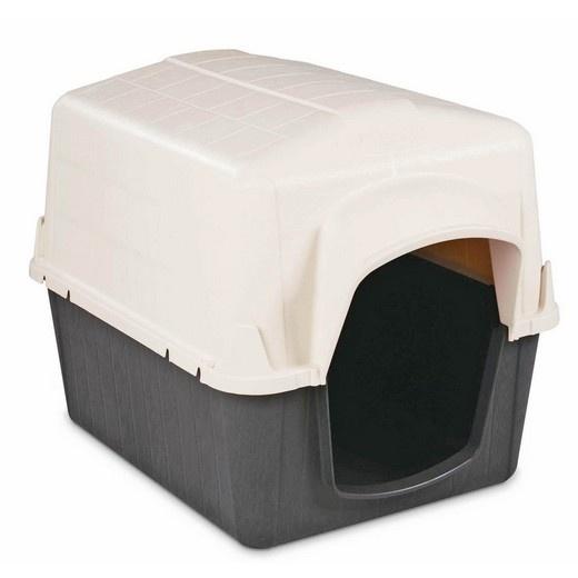 Barnhome niche plastique petmate pour chien niche for Niche pour chat interieur