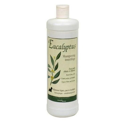 shampooing pour chiot et chatons traitant eucalyptus. Black Bedroom Furniture Sets. Home Design Ideas