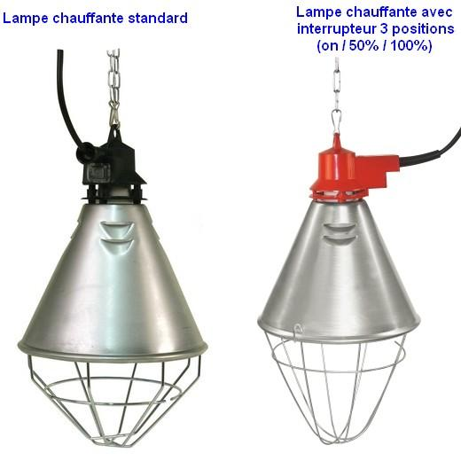 lampe chauffante accessoires pour enclos et parc chiot ou chaton lampe plaque chauffante. Black Bedroom Furniture Sets. Home Design Ideas