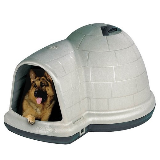 igloo indigo niche plastique petmate pour chien morin. Black Bedroom Furniture Sets. Home Design Ideas