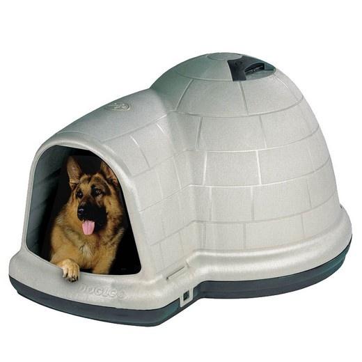 igloo indigo niche plastique petmate pour chien morin accessoires pour chien. Black Bedroom Furniture Sets. Home Design Ideas