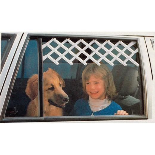 Grille d a ration pour fen tre morin accessoires pour le transport et le voyage en voiture - Grille pour chien en voiture ...