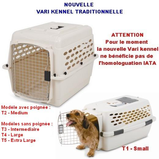 cage de transport vari kennel traditionnelle caisse transport pour chien et chat morin. Black Bedroom Furniture Sets. Home Design Ideas