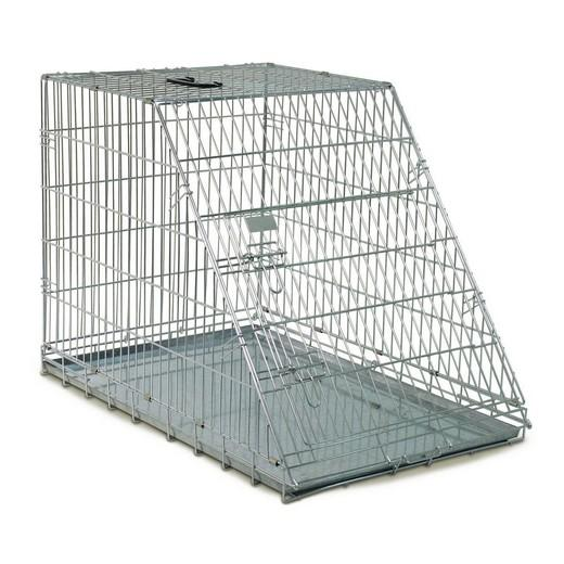 cage de transport m tal pliante pour chiens et chats pan inclin morin accessoires pour le. Black Bedroom Furniture Sets. Home Design Ideas