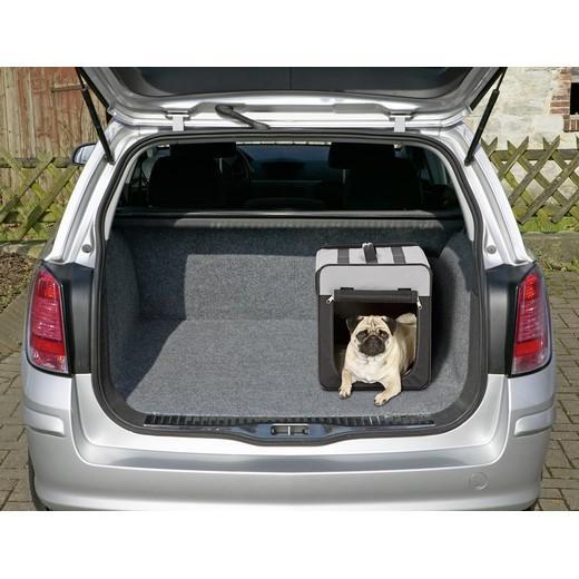 cage de transport pliante en cordura pour chien ou chat. Black Bedroom Furniture Sets. Home Design Ideas