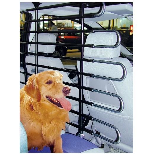 Mod le droit 8 barres grilles et filet de s paration pour - Grille de separation voiture pour chien ...