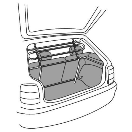 Vario classic grilles et filet de s paration pour voiture - Grille de separation pour chien ...