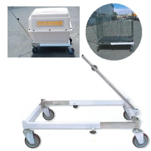 chariot pour cage de transport pour expositions morin accessoires cages et caisses pour le. Black Bedroom Furniture Sets. Home Design Ideas