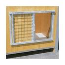 Fermeture d'entrée par grille coulissante pour niche CONFORT ou CPRS