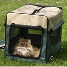 Cage de transport pliante en Cordura pour chien ou chat - Smart Top
